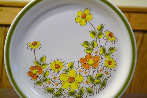 Vintage Spring Collection Stoneware Spring Garland by PanchosPorch, $45.00