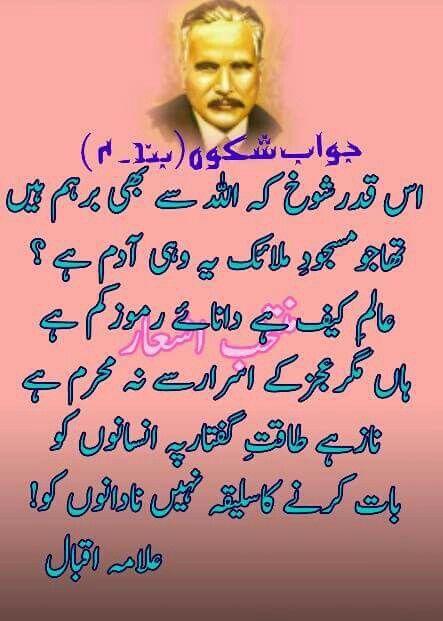 Pin by Mohammad Ali (Entrepreneur) on Allama Mohammad Iqbal ...