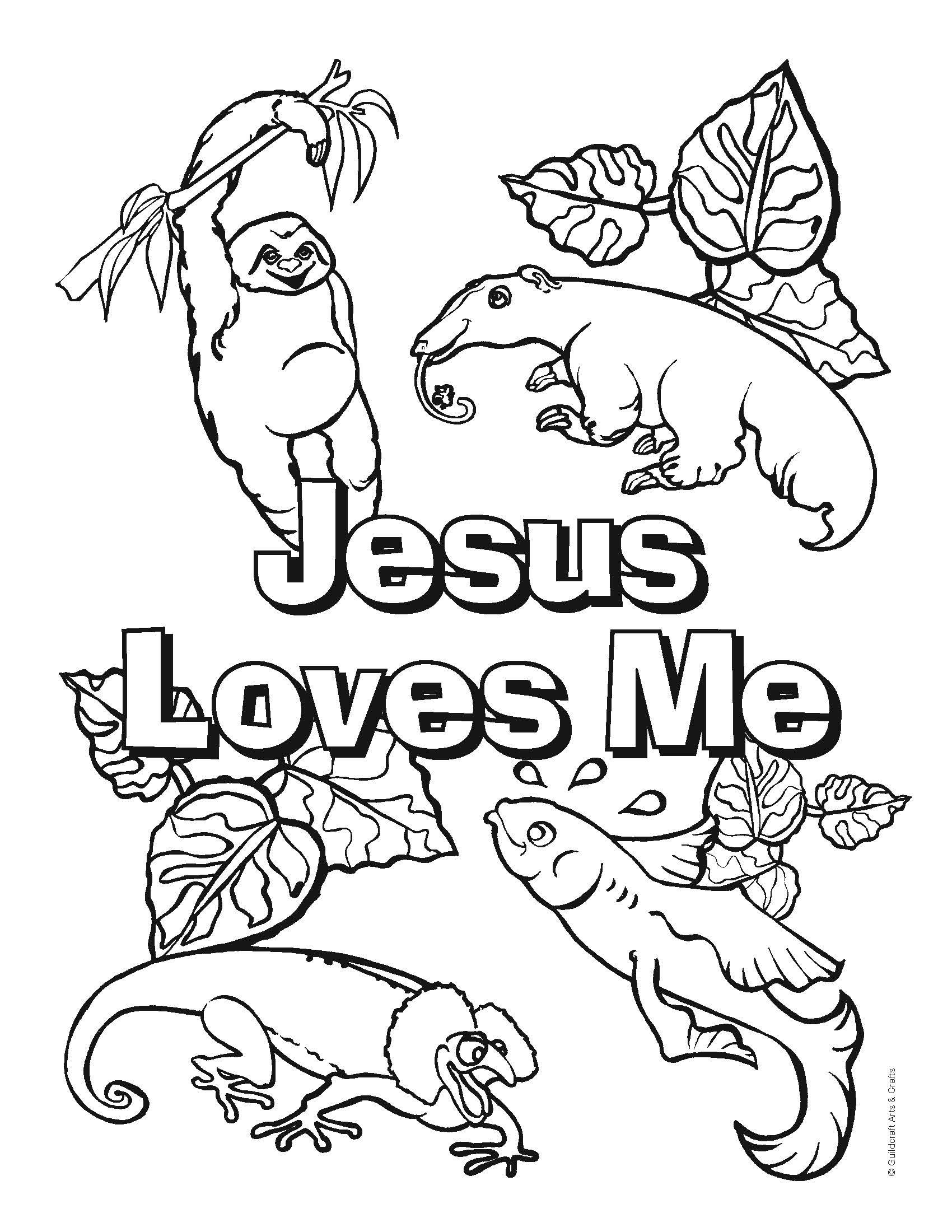 Free VBS coloring sheets from Guildcraft Arts  Crafts VBS14
