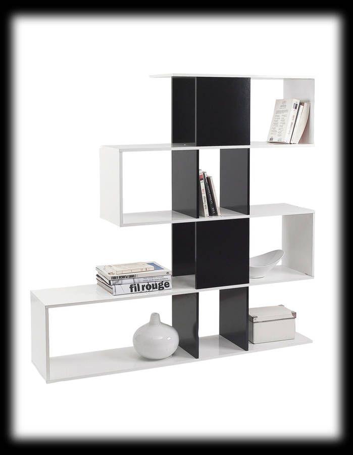 biblioth ques 14 id es pour cloisonner l espace biblioth ques pinterest tag re. Black Bedroom Furniture Sets. Home Design Ideas