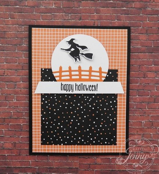Free Card Tutorial Featuring Stampinu0027 Up!u0027s Spooky Fun Stamp Set And  Halloween