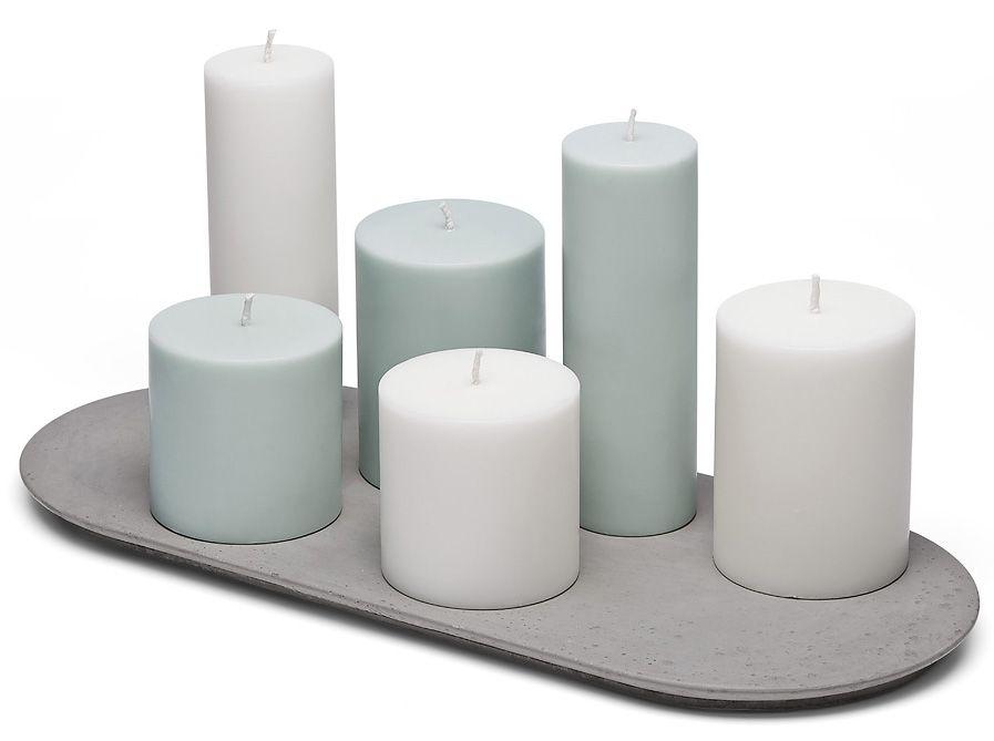 촛불 콘크리트 플랫폼