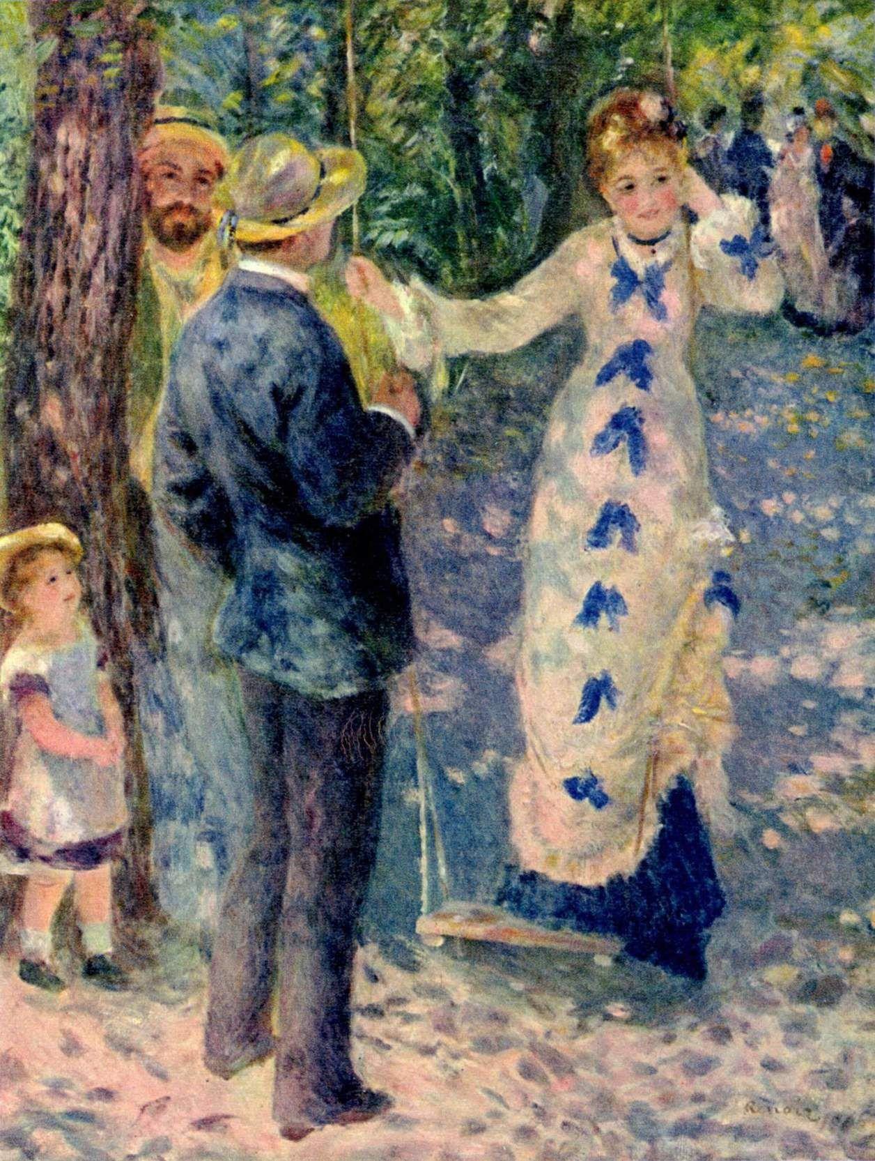 Pierre Auguste Renoir Google Sogning Impressionisme Renoir