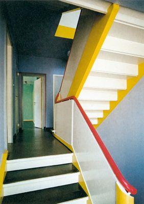 1925/26, Meisterhaus Kandinsky-Klee, entworfen von Walter
