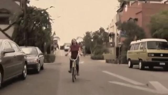 Cycling in the first minute of I Don't Love You by Kyle Duncan McNeill