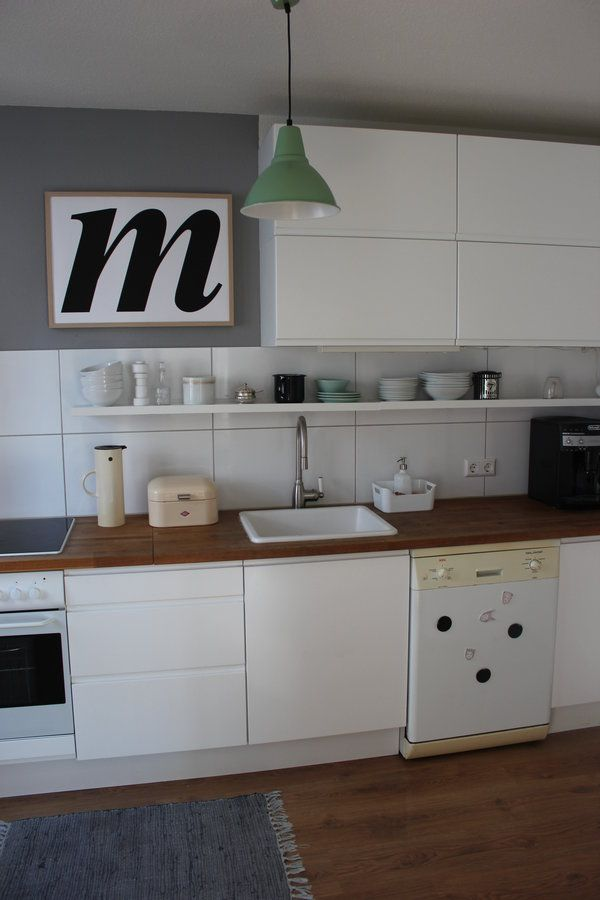 Küche ganz aufgeräumt☺️   Wohnung küche, Küche block und Küche