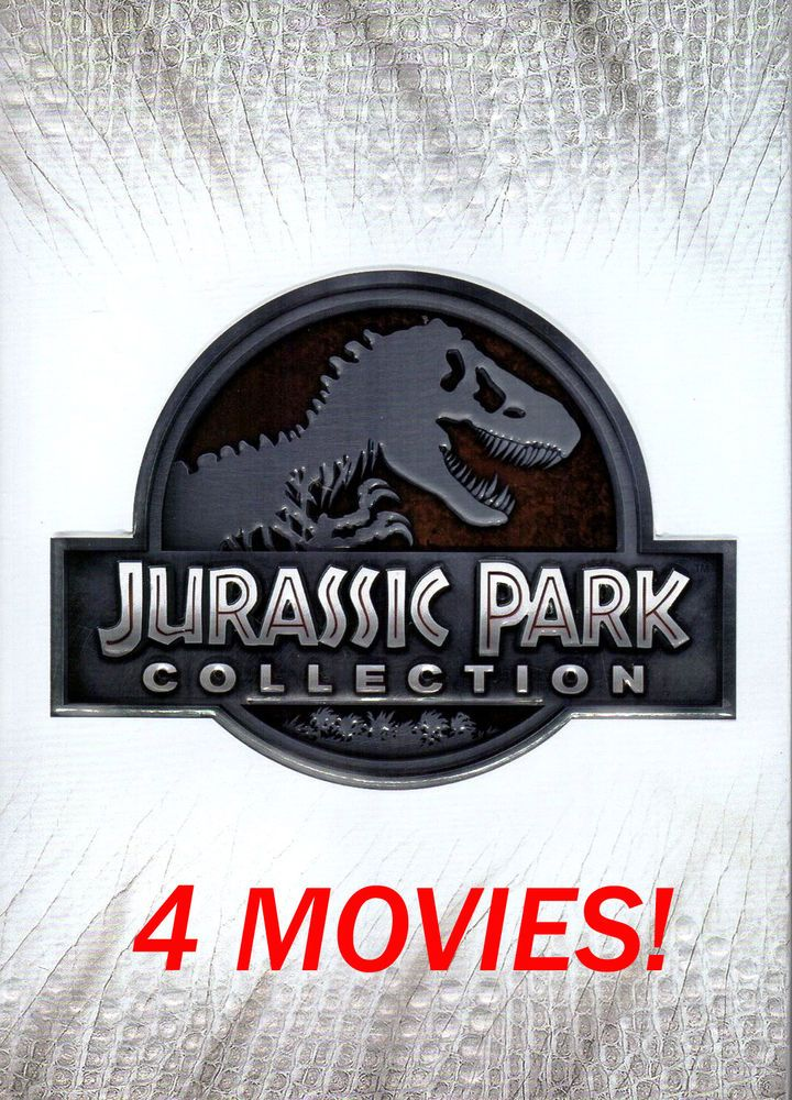 Jurassic Park DVD Collection (All 4 Movies) (15 + FREE
