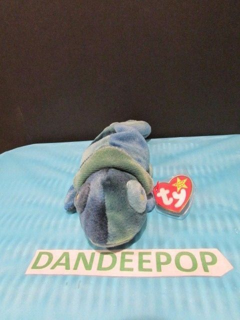 acbfee04c7f TY Retired Beanie Baby Rainbow Chameleon 1997 Rare With Tags Ty  Ty  Beanie   rainbow  chameleon  beaniebaby  rare  retired  dandeepop Find me at  dandeepop. ...