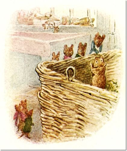 Beatrix Potter - The Tale of Johnny Town-Mouse, 1918 - Timmy Willie Said Goodbye to His New Friends