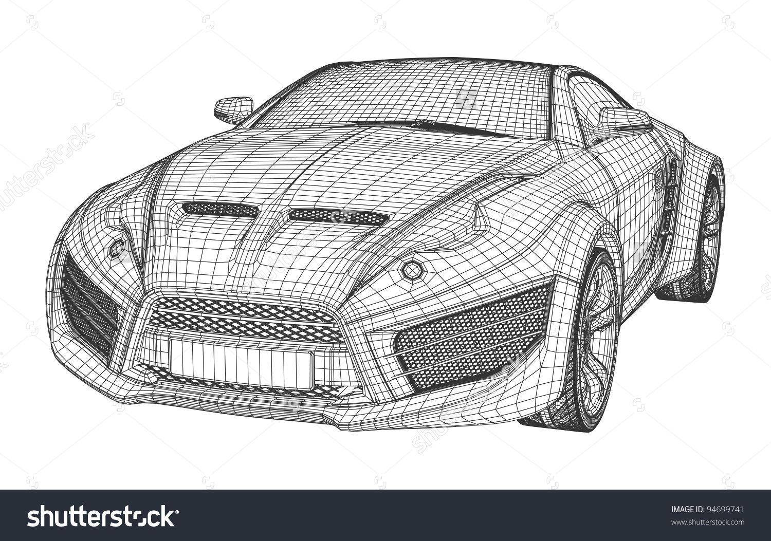Blueprint car google search modeling pinterest 3d blender blueprint car google search malvernweather Image collections