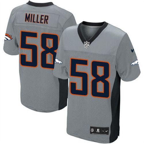 73357d3f0 Von Miller Game Jersey-80%OFF Nike Von Miller Game Jersey at Broncos Shop. (Game  Nike Men s Von Miller Grey Shadow Jersey) Denver Broncos  58 NFL Easy ...