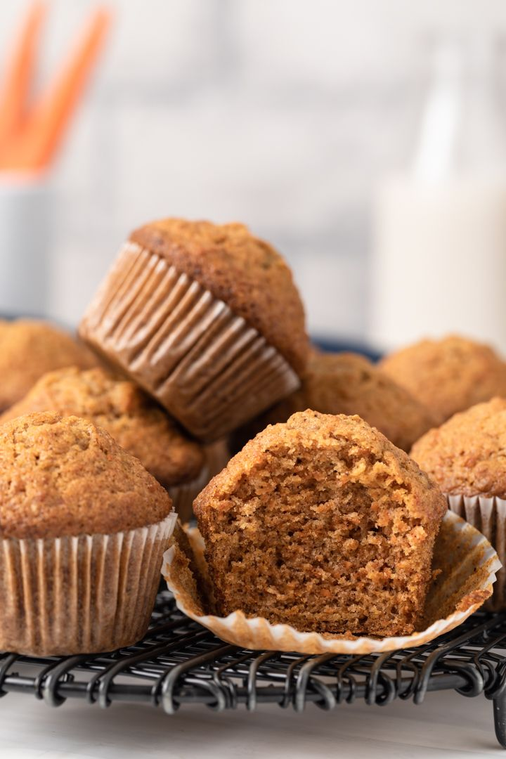 The Best Carrot Muffins Recipe Carrot Muffins Carrot Muffins Easy Pumpkin Coffee Cakes