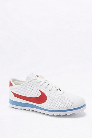 premium selection ef9ce e8faf Nike Cortez Ultra Moire Red, White, and Blue Trainers - Urban Outfitters