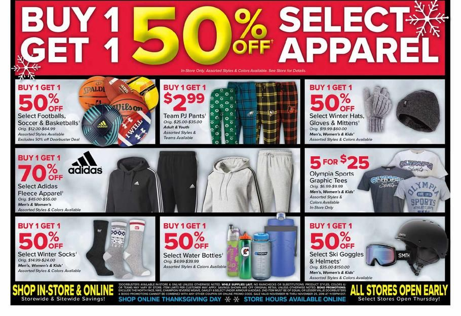 Olympia Sports Black Friday 2018 Ads and Deals Browse the