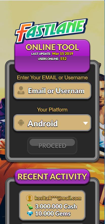 fastlane road to revenge hack android download