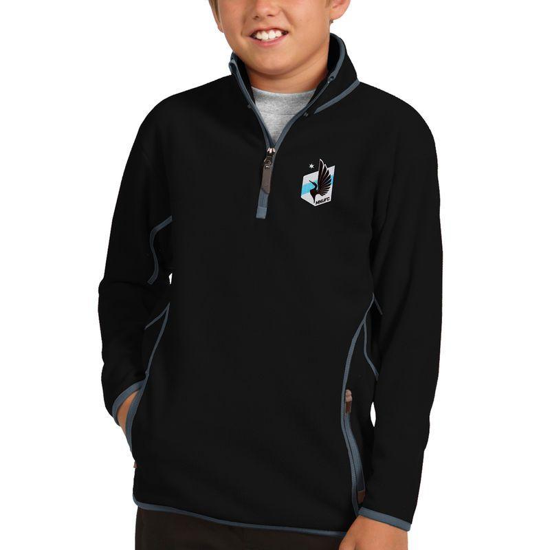 Minnesota United FC Antigua Youth Ice Quarter-Zip Pullover Jacket ...