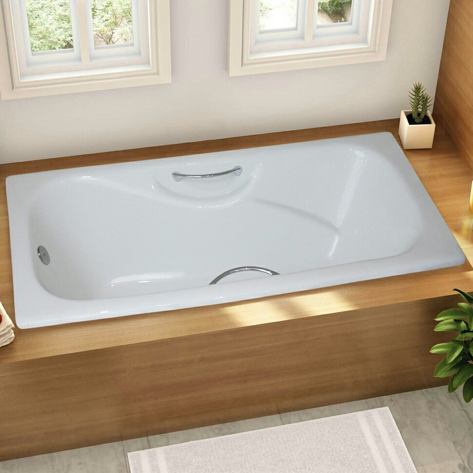 Cast Iron Drop In Soaking Tub | Sevenstonesinc.com