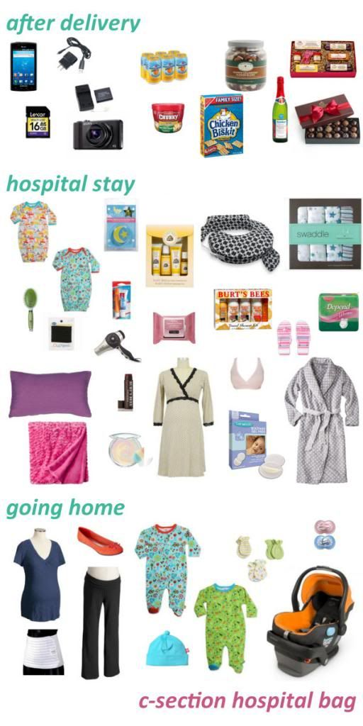 c-section hospital bag | What To Pack in the Hospital Bag ...