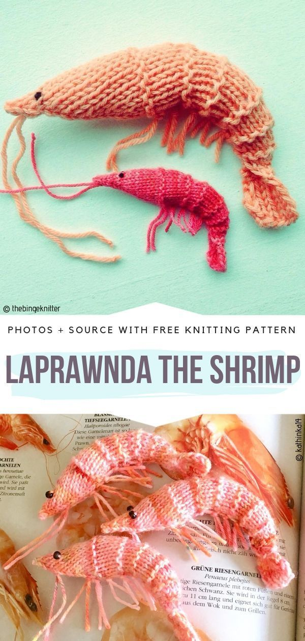 Under the Sea Knitted Creatures Free Patterns