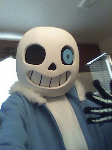 Make Your Own Didly Dang Sans Mask By Me Sans Mask Sans Halloween Costume Boy Halloween Costumes