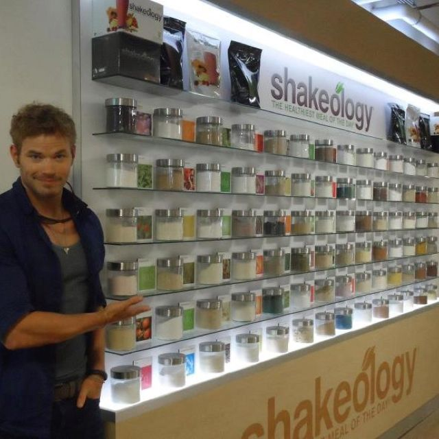 Emmett is not only a P90x grad but he loves Shakeology too!! Maybe this is why vampires are so hot! LOL
