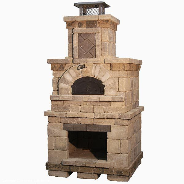 Great Outdoor Kitchen Complete With Pizza Oven: Outdoor Pizza Oven. One Like This Or Make An Earth Oven