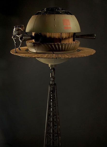 Extrañas y únicas esculturas steampunk. | Quiero más diseño