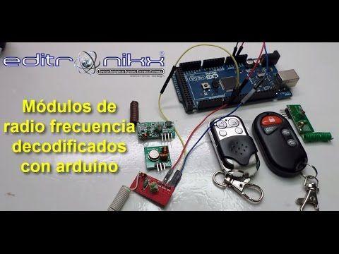 Módulos De Radio Frecuencia Decodificados Con Arduino