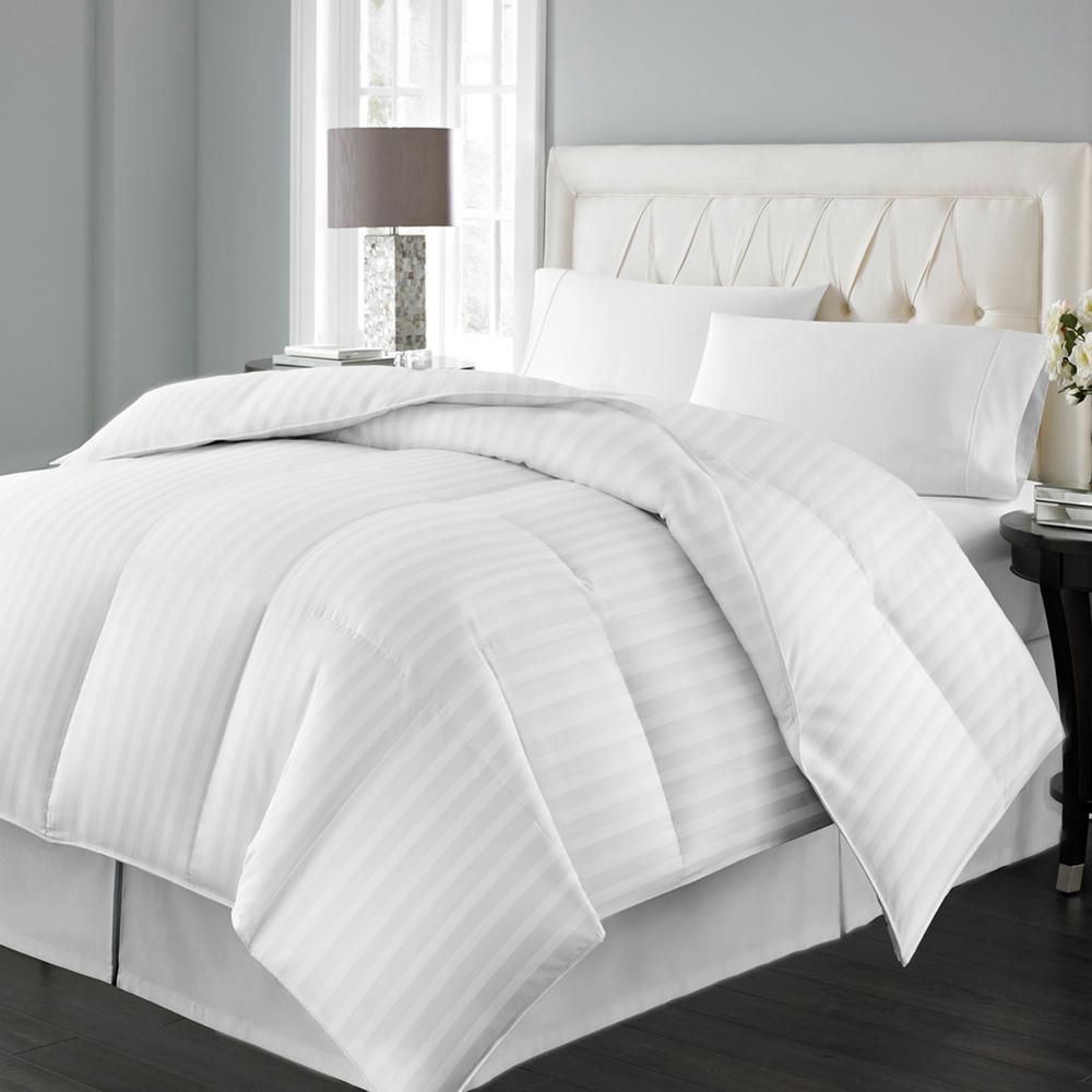Blue Ridge Siberian Extra Warmth White Twin Duck Down Comforter