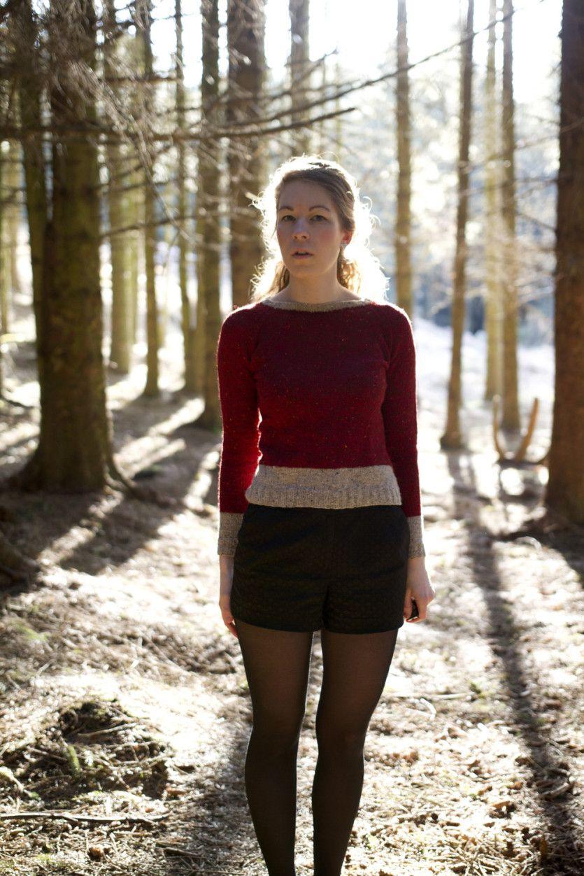FO Rød tweed genser « Matilde Skår Tröjor