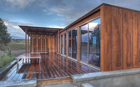 The Marfa House Texas A Prefab By Weehouse Modern Prefab