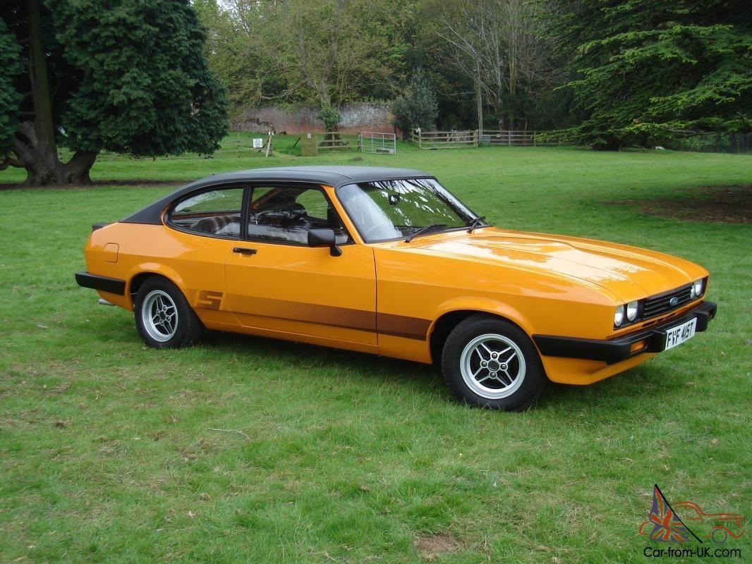 Ford Capri 3 0s 1978 Signal Orange Superb Full Mot Ford Capri