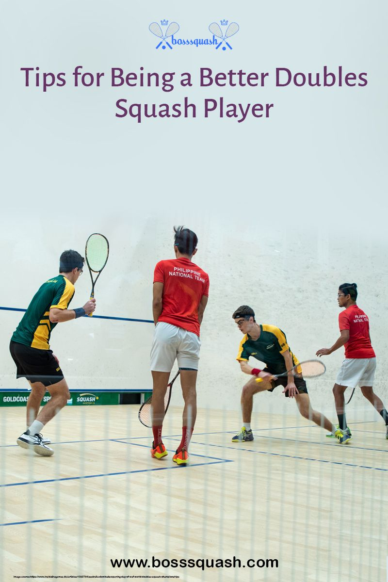how to play squash doubles