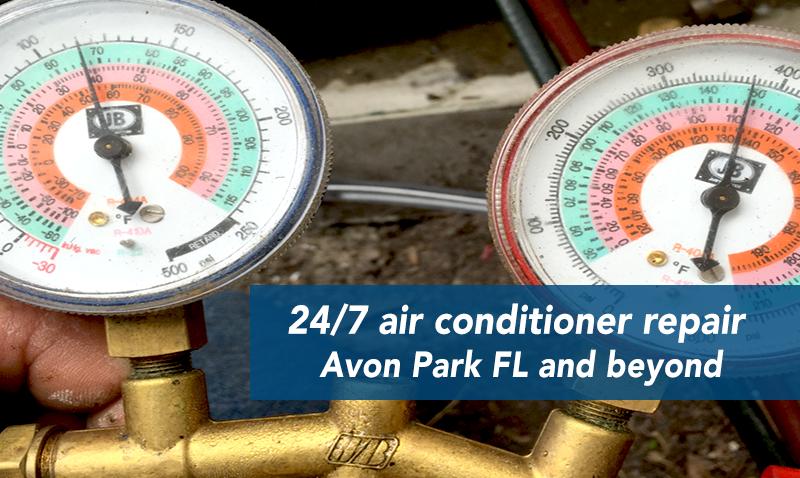 24 Hour AC Repair Avon Park Avon park, Air conditioning
