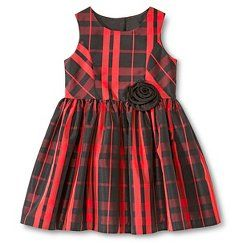Toddler Girls' Occasion Dresses - Red