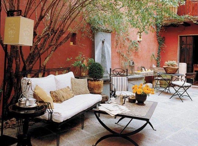 Arredare un terrazzo da sogno ma economico - Terrazzo coperto ...