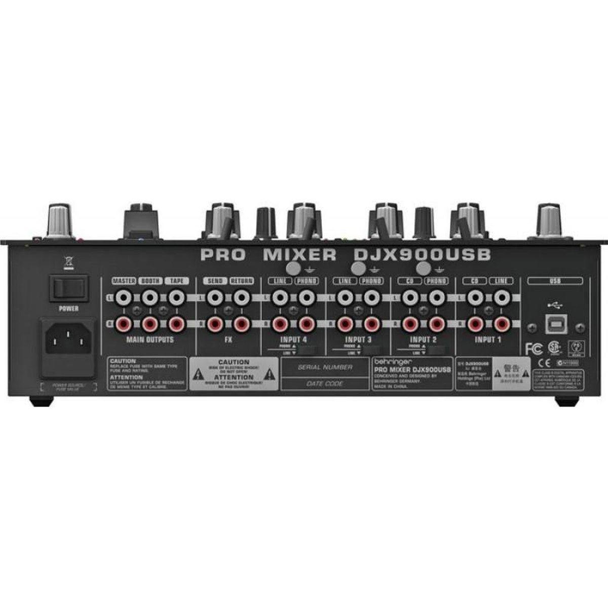 Djx900 Usb Table De Mixage Dj 5 Canaux Avec Fx 24bit