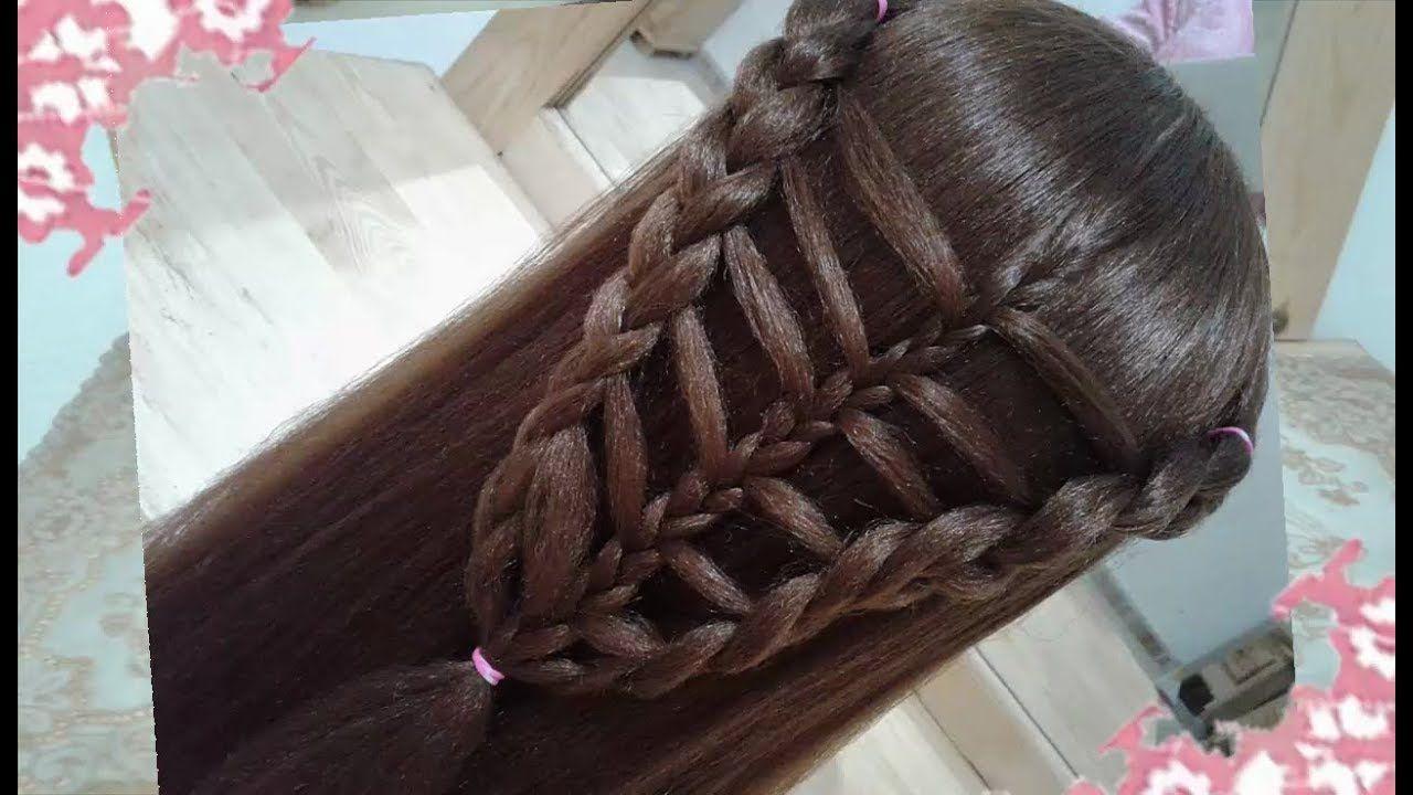 Como Hacer Peinados Recogidos Para Nina Con Trenzas Faciles