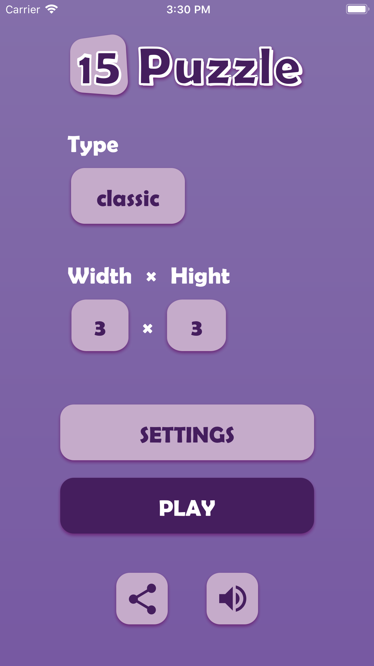 15 Puzzle Ios