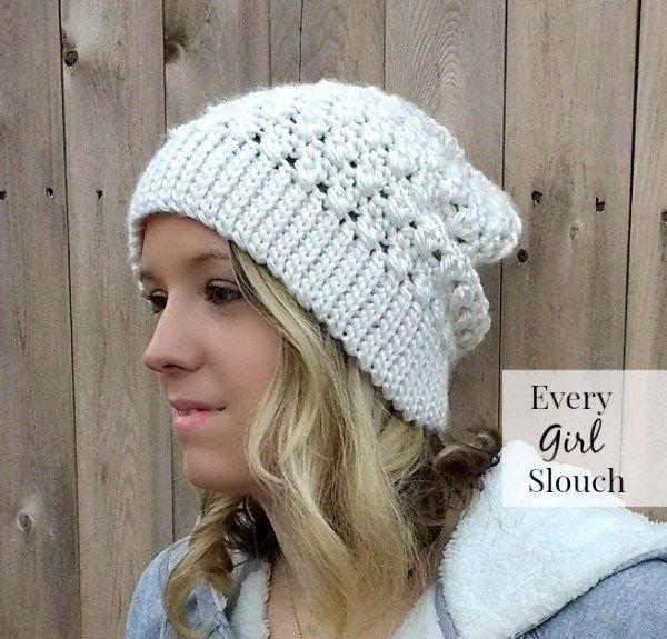 The Every Girl Slouch | Cute Crochet Corner | Pinterest