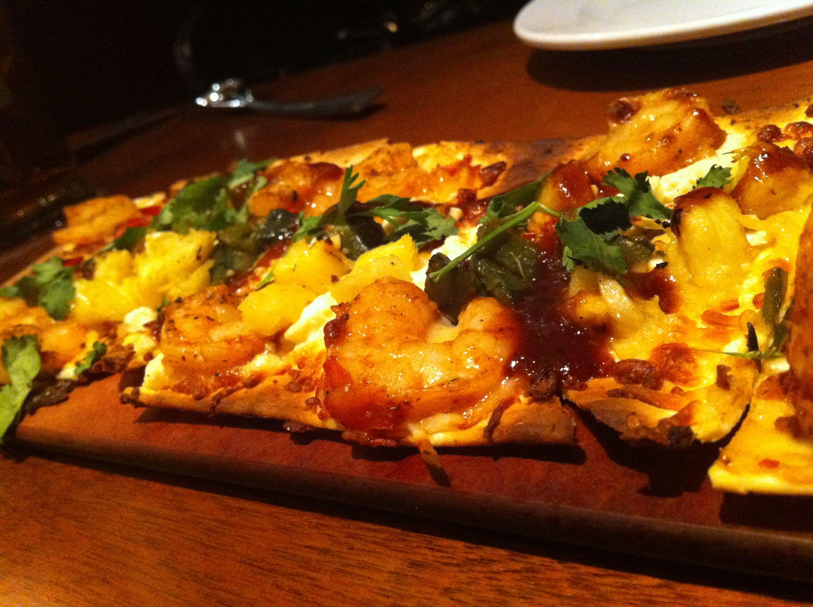 Seasons 52 Chipotle Shrimp Flatbread Food Recipes Foodie