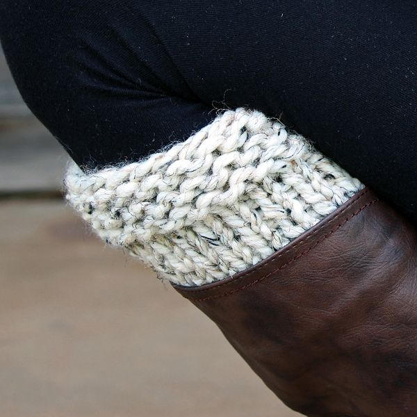 Diligence Boot Cuff Knitting Pattern Knitting Patterns