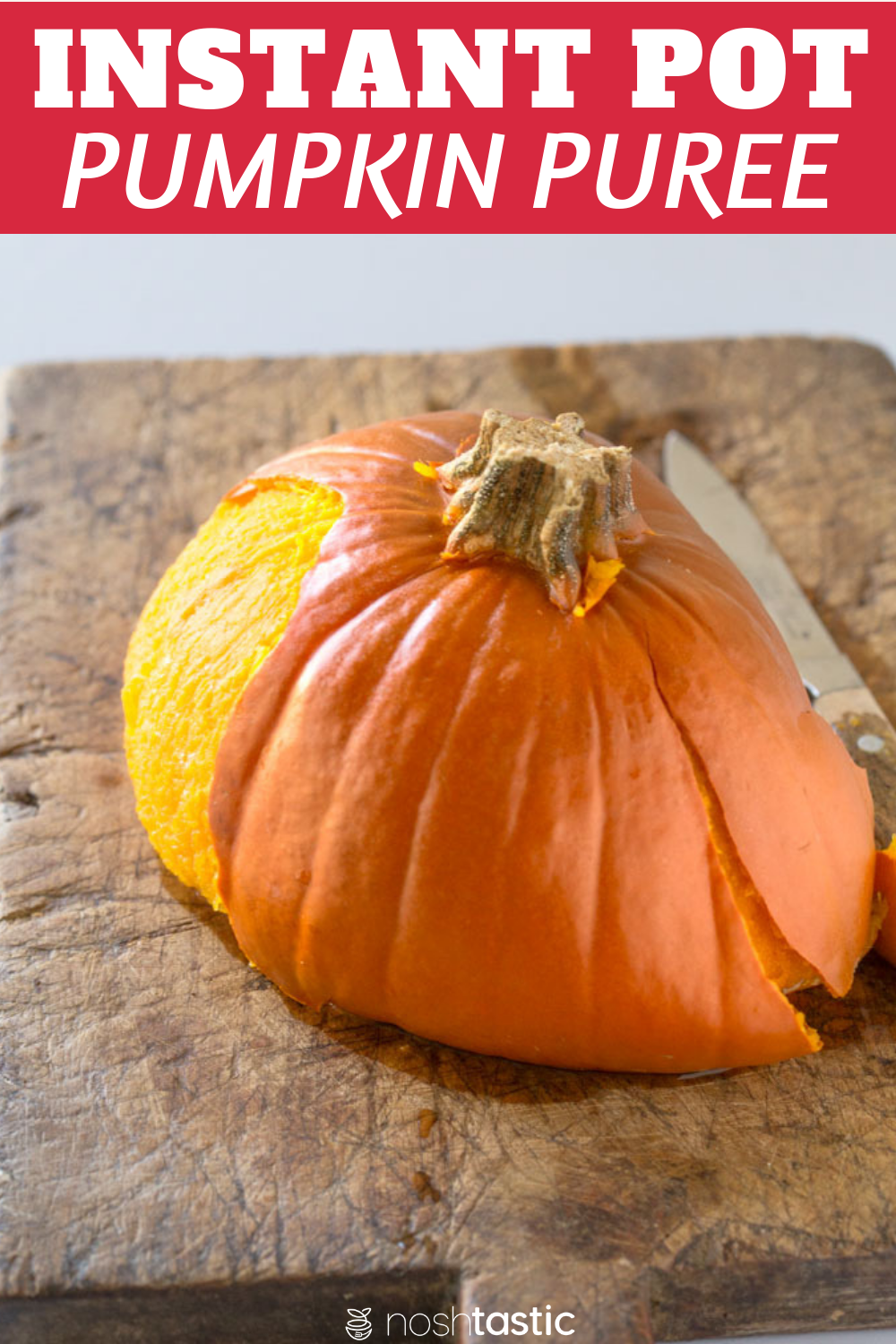 Easy Pressure Cooker Whole Pumpkin, you won't believe how simple it is to cook!
