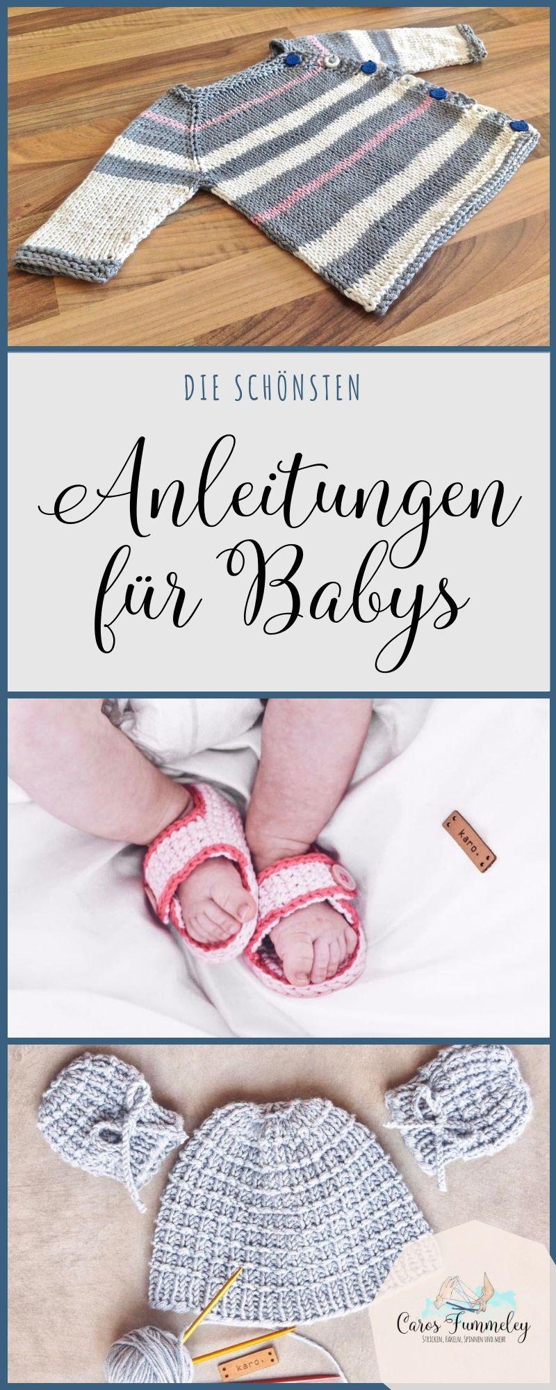 Photo of Die schönsten Strick- und Häkelanleitungen für Babys
