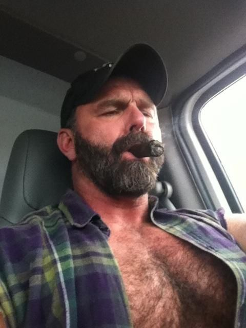 Gay latino male trucker with you