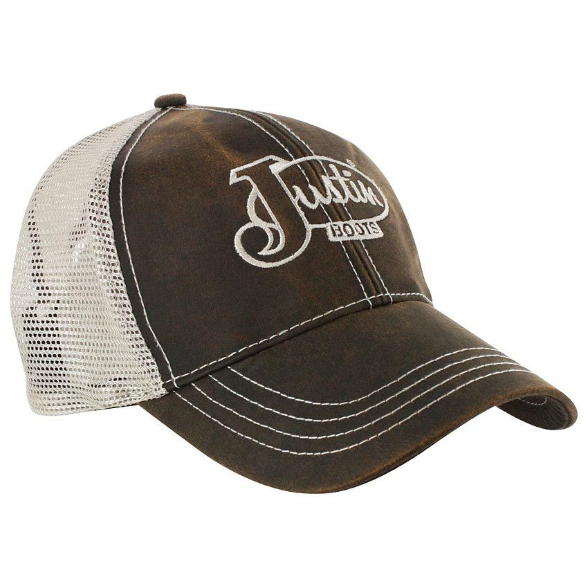 207c83174e3 Justin Men s Embroidered Trucker Hat Southern Girls