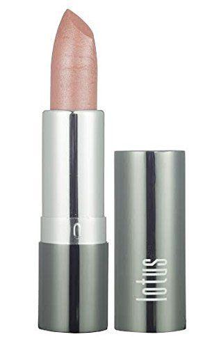 Lotus Pure Organic Sheer Peach Lipstick Glittery - http://essential-organic.com/lotus-pure-organic-sheer-peach-lipstick-glittery/