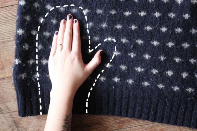 make your own gloves!