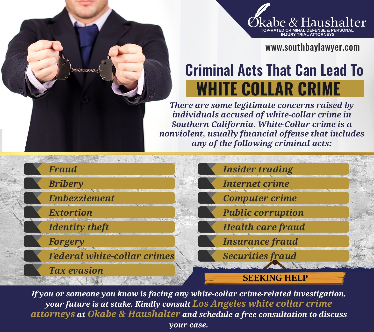 Los Angeles White Collar Crime Attorney White Collar Crime