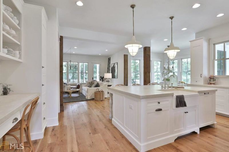 A Modern Farmhouse Featured in Country Living For Sale in Georgia Hooked on Houses